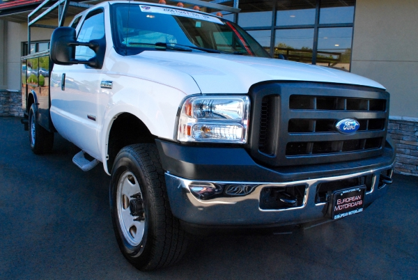 2006 Ford F350 SUPER DUTY XL 4X4 EXTENDED CAB UTILITY BED