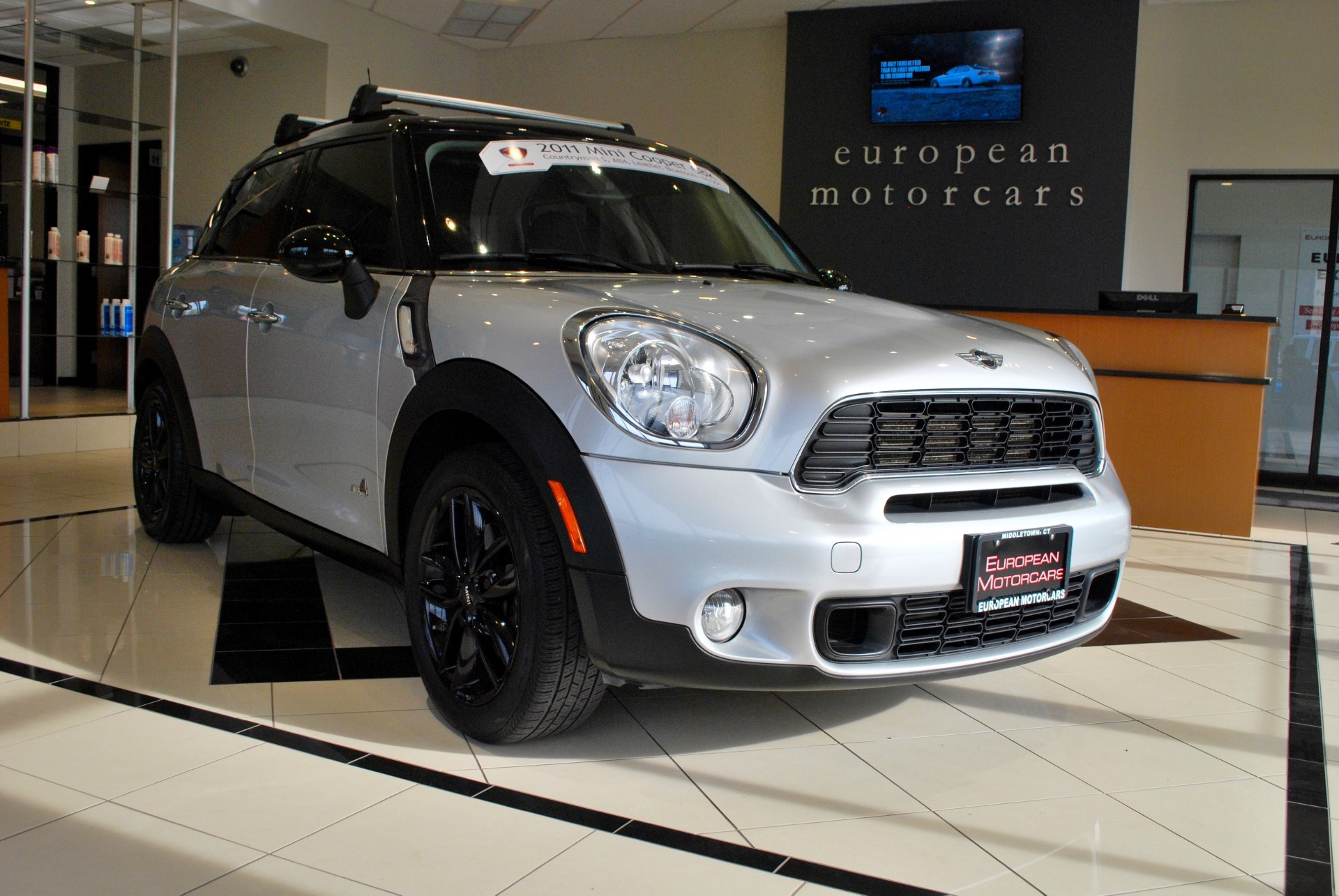 2011 mini cooper countryman s all4 for sale near middletown ct ct mini dealer stock m11453. Black Bedroom Furniture Sets. Home Design Ideas