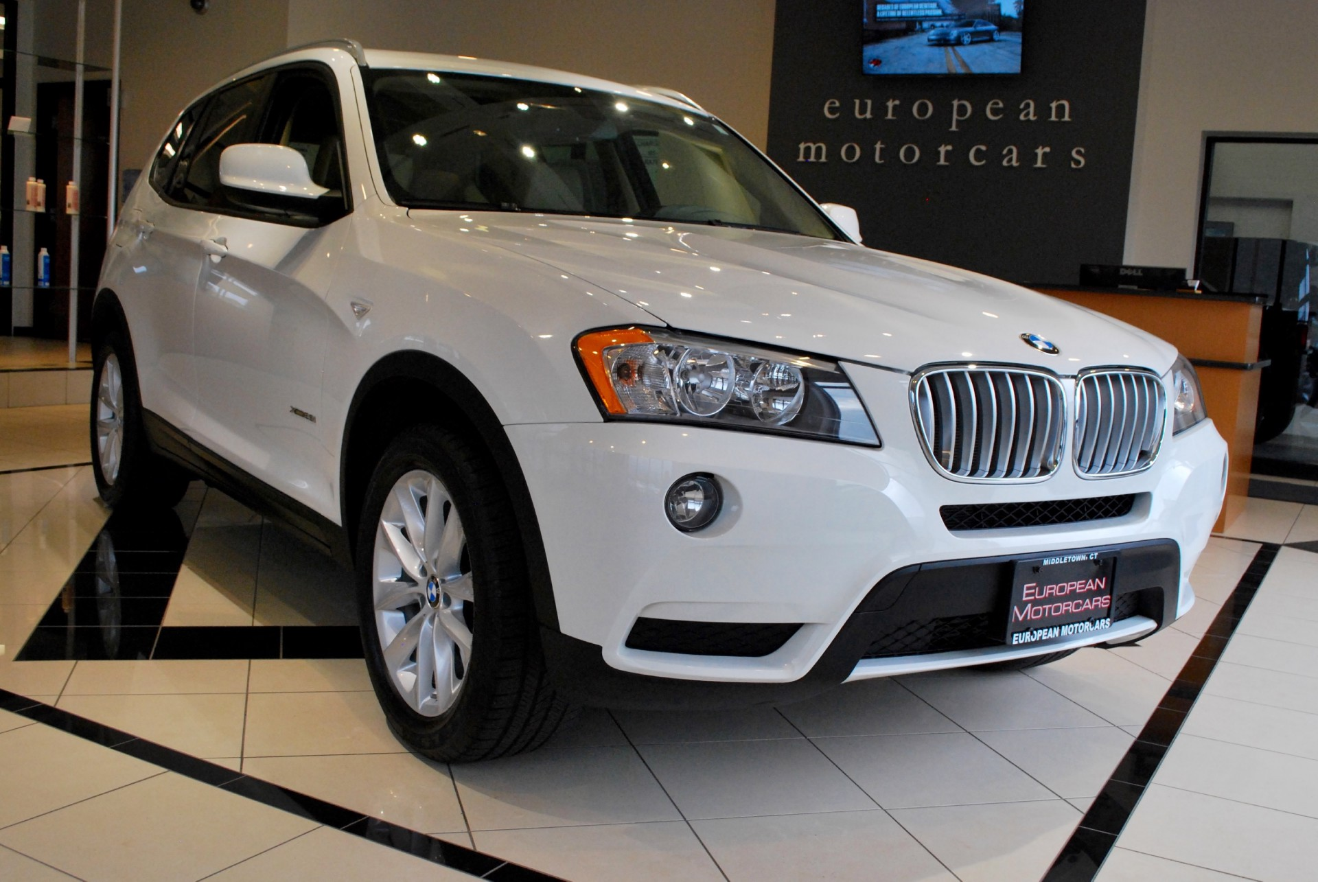 2013 bmw x3 xdrive28i for sale near middletown ct ct bmw dealer stock d07871. Black Bedroom Furniture Sets. Home Design Ideas
