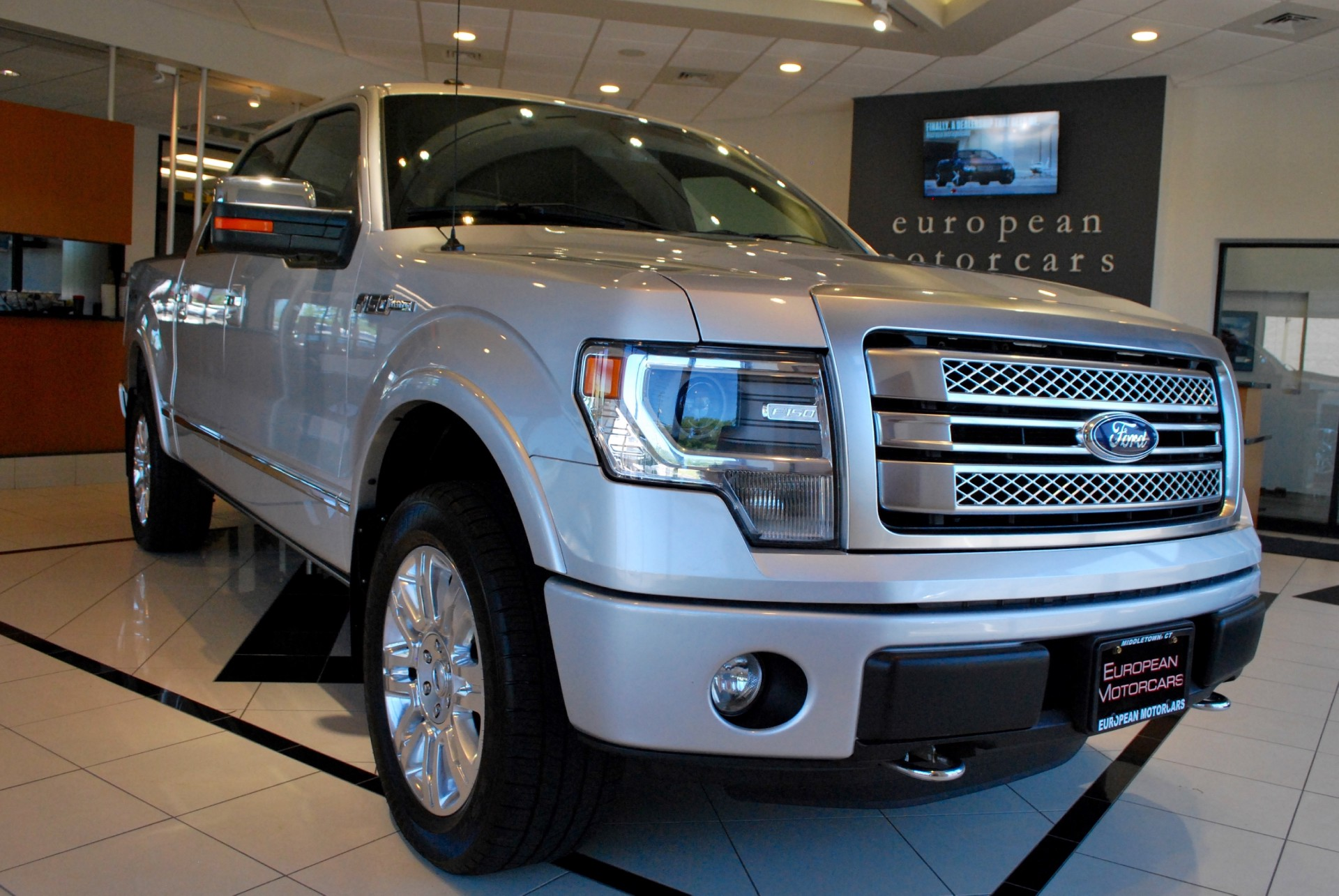 2013 ford f 150 crew cab platinum for sale near middletown ct ct ford dealer stock b28368. Black Bedroom Furniture Sets. Home Design Ideas