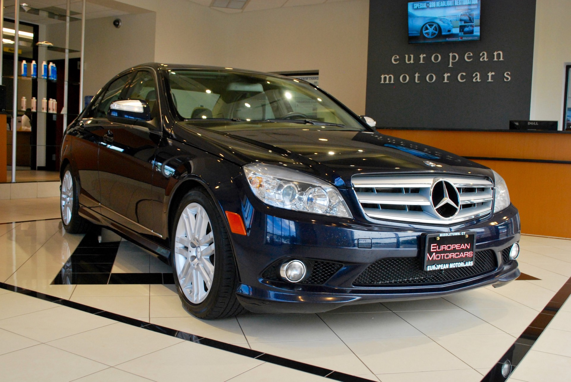 2009 mercedes benz c class c300 luxury 4matic for sale for Euro motors collision center