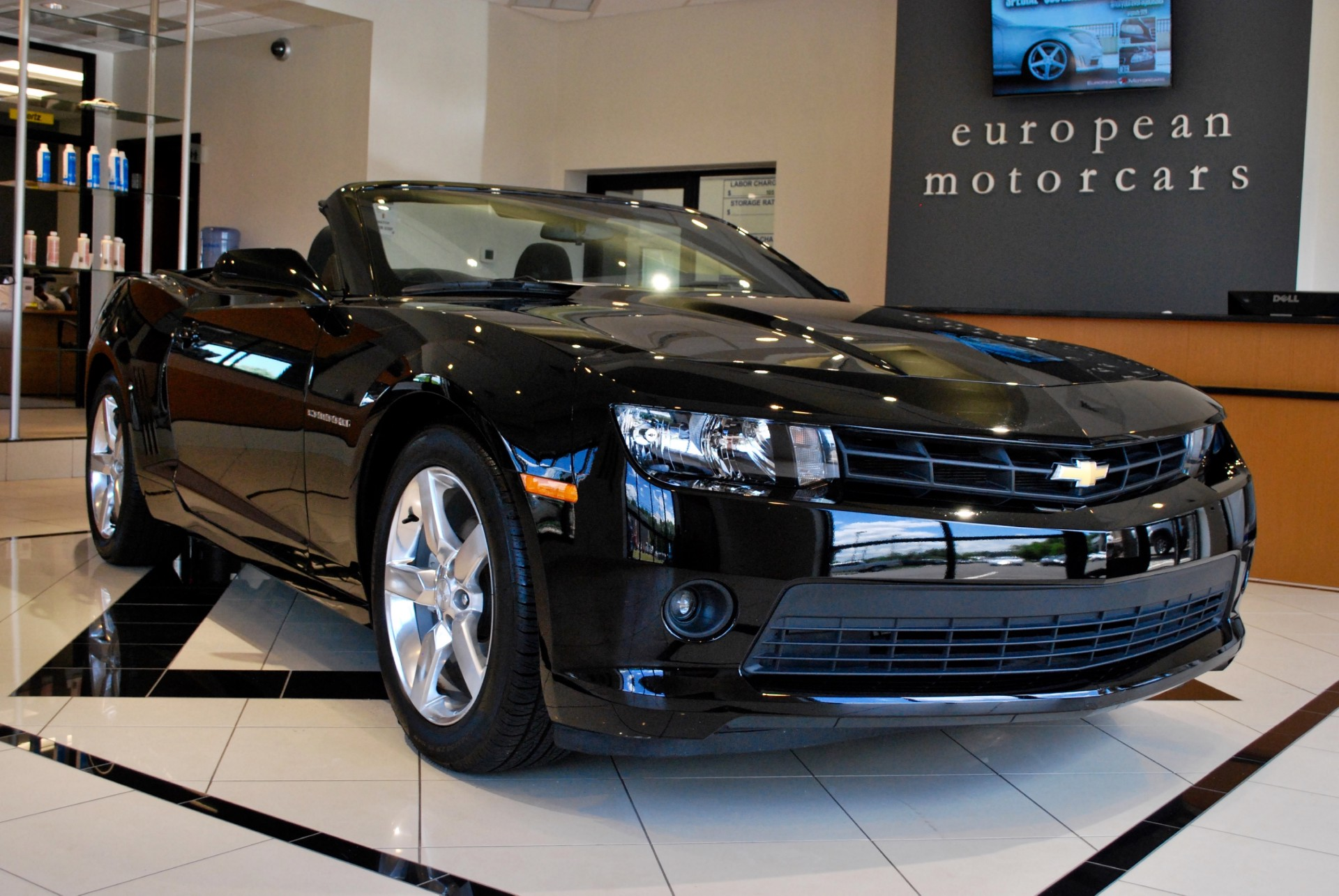 2015 chevrolet camaro convertible lt for sale near for Euro motors collision center