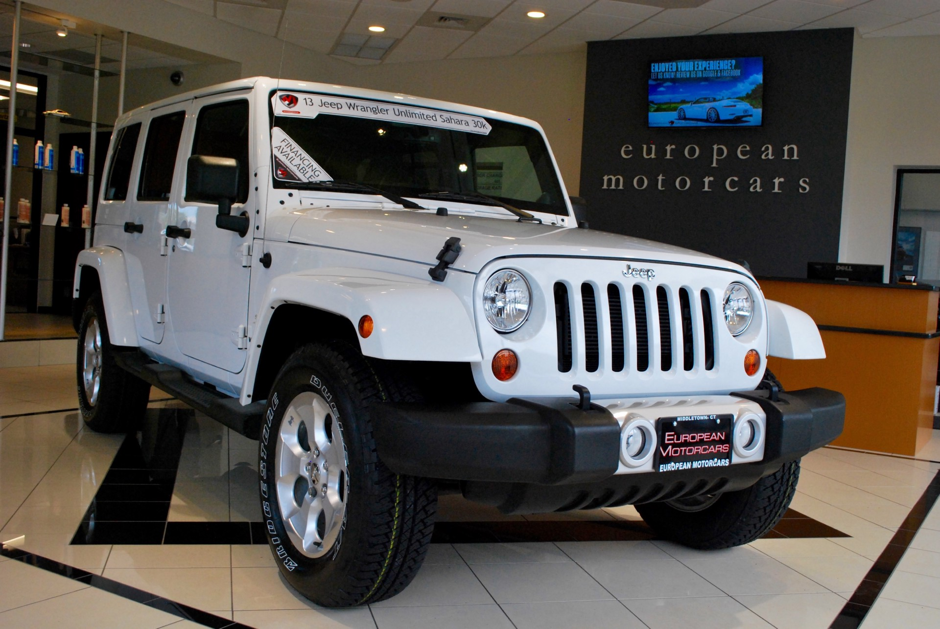 2013 jeep wrangler unlimited sahara for sale near middletown ct ct jeep dealer stock 615358. Black Bedroom Furniture Sets. Home Design Ideas
