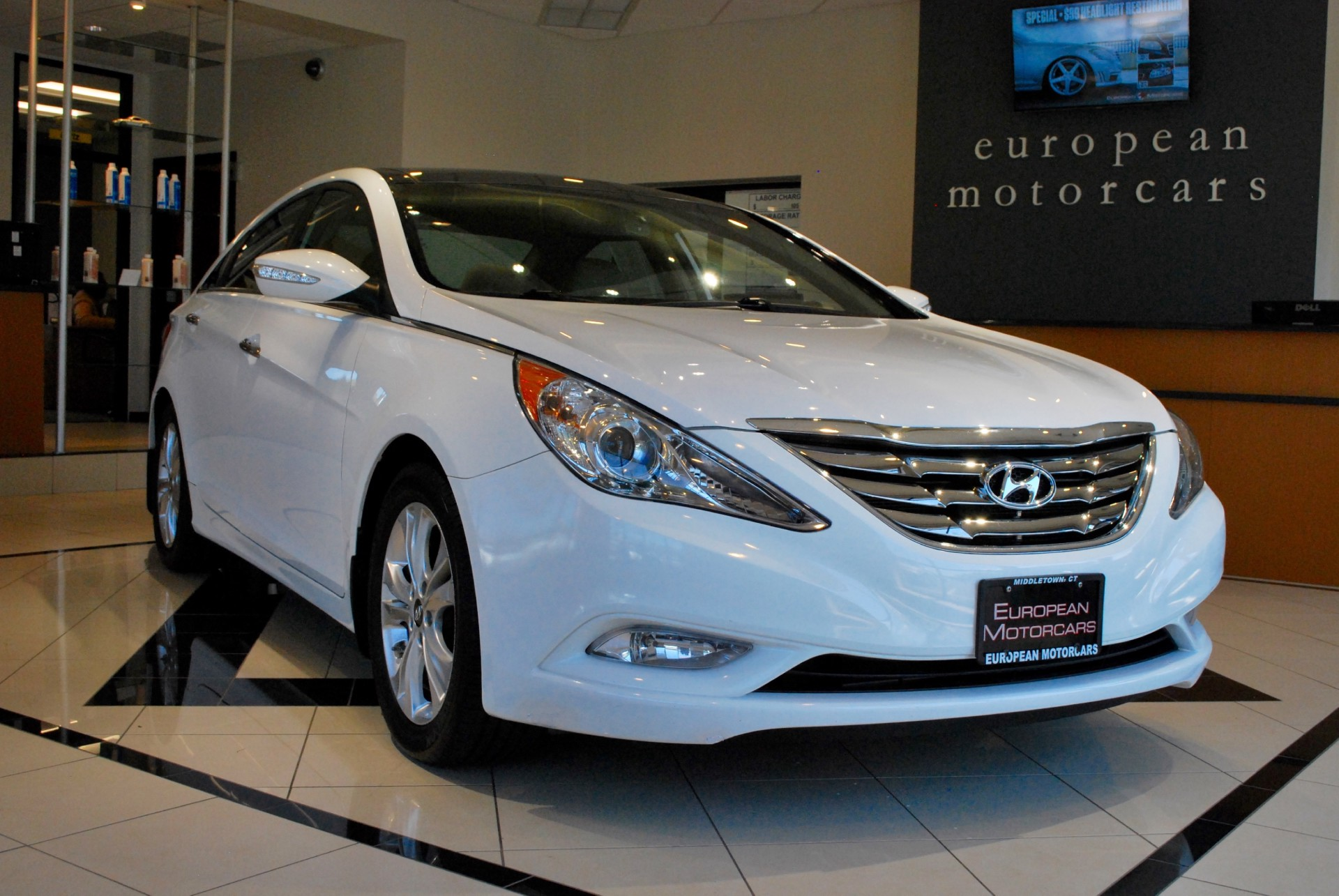 2013 hyundai sonata limited for sale near middletown ct for Euro motors collision center