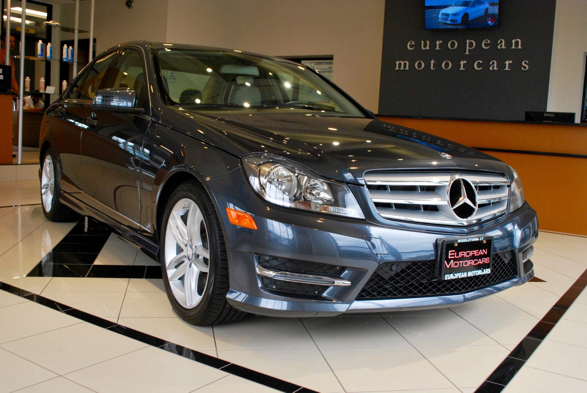 2013 mercedes benz c class c300 sport 4matic for sale near for Euro motors collision center