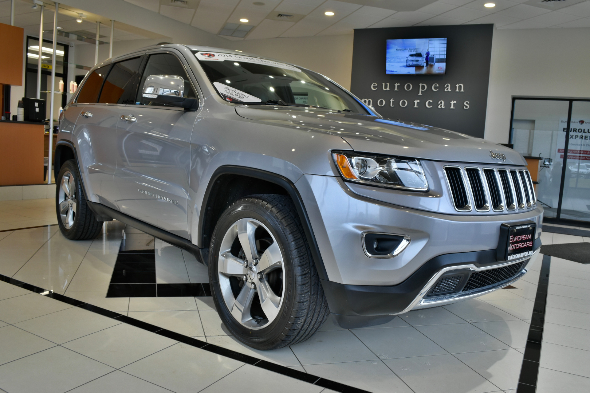 2014 jeep grand cherokee limited for sale near middletown ct ct jeep dealer stock 193916. Black Bedroom Furniture Sets. Home Design Ideas