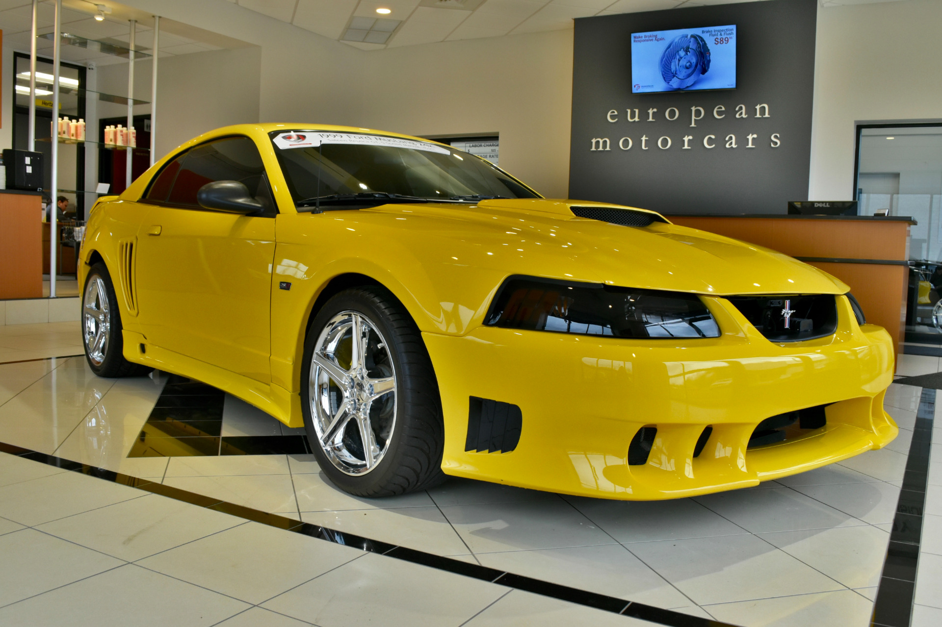 1999 ford mustang saleen replica gt for sale near middletown ct ct ford dealer stock 192911. Black Bedroom Furniture Sets. Home Design Ideas
