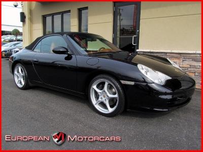 2002 Porsche 911 Carrera Cabriolet