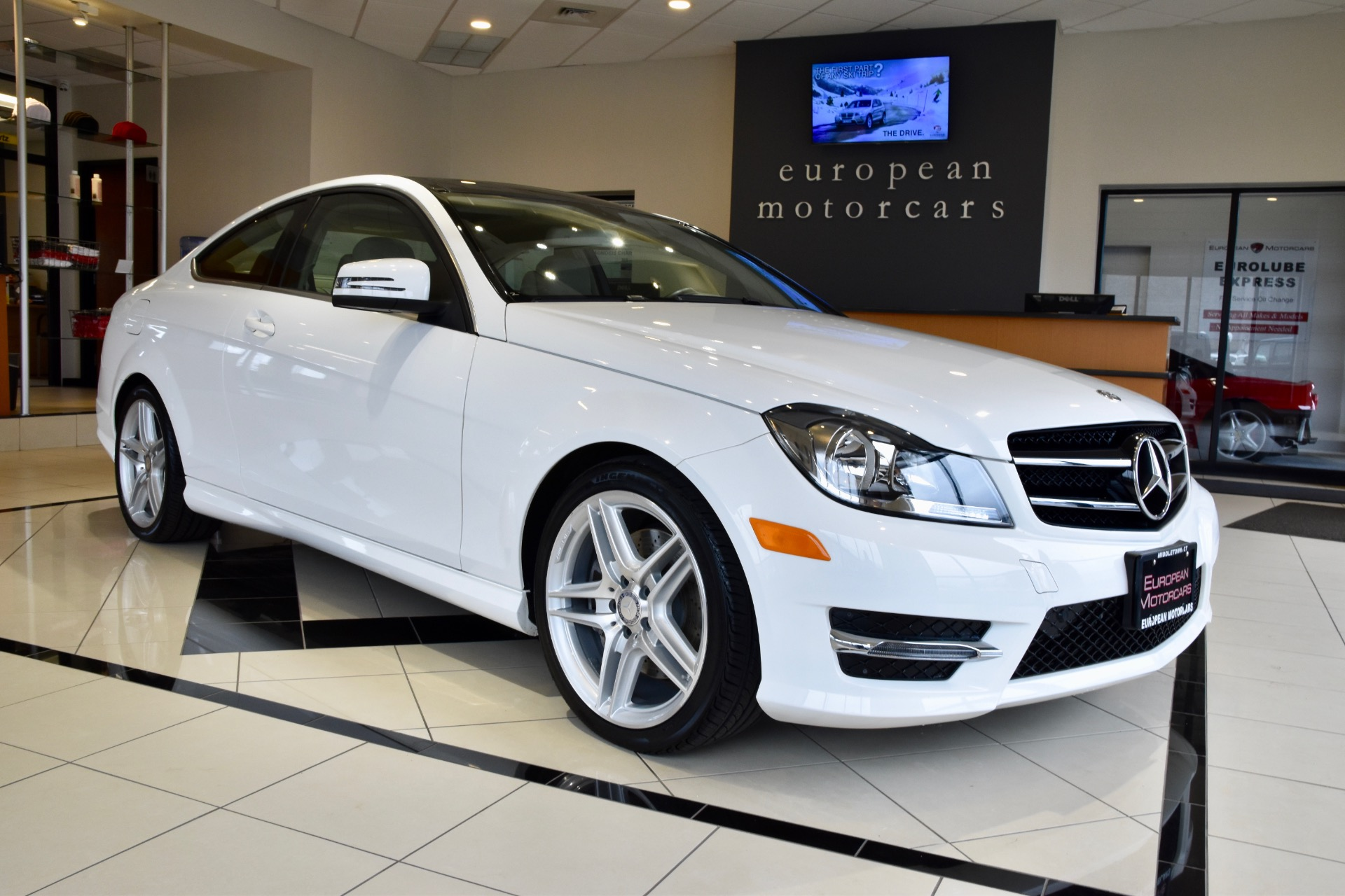 2015 mercedes benz c class c 350 4matic for sale near for Euro motorcars mercedes benz