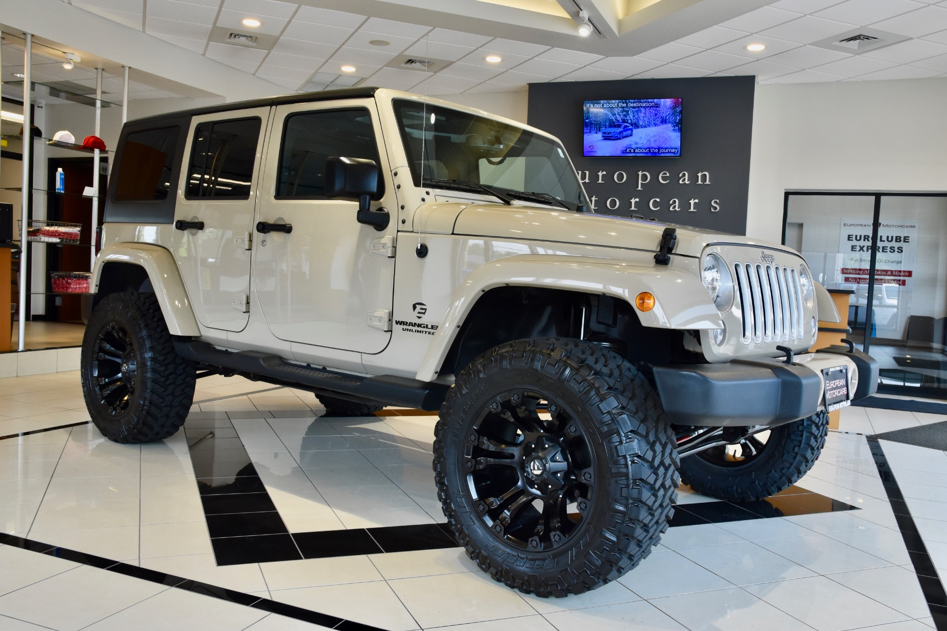 Jeep Wrangler For Sale Ct >> 2016 Jeep Wrangler Unlimited CUSTOM LIFTED Sahara for sale ...