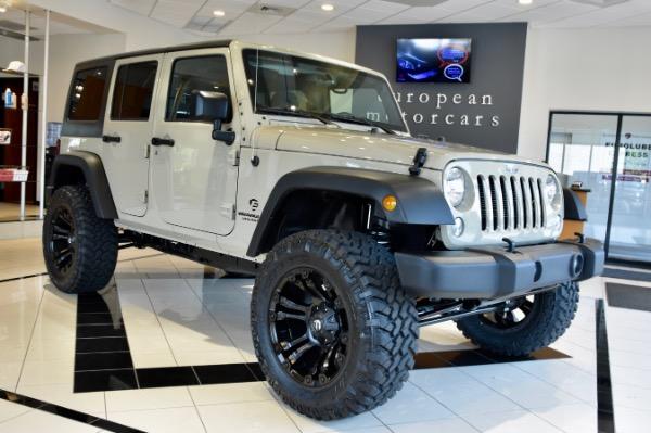 2017 Jeep Wrangler Unlimited EMC CUSTOM LIIFTED