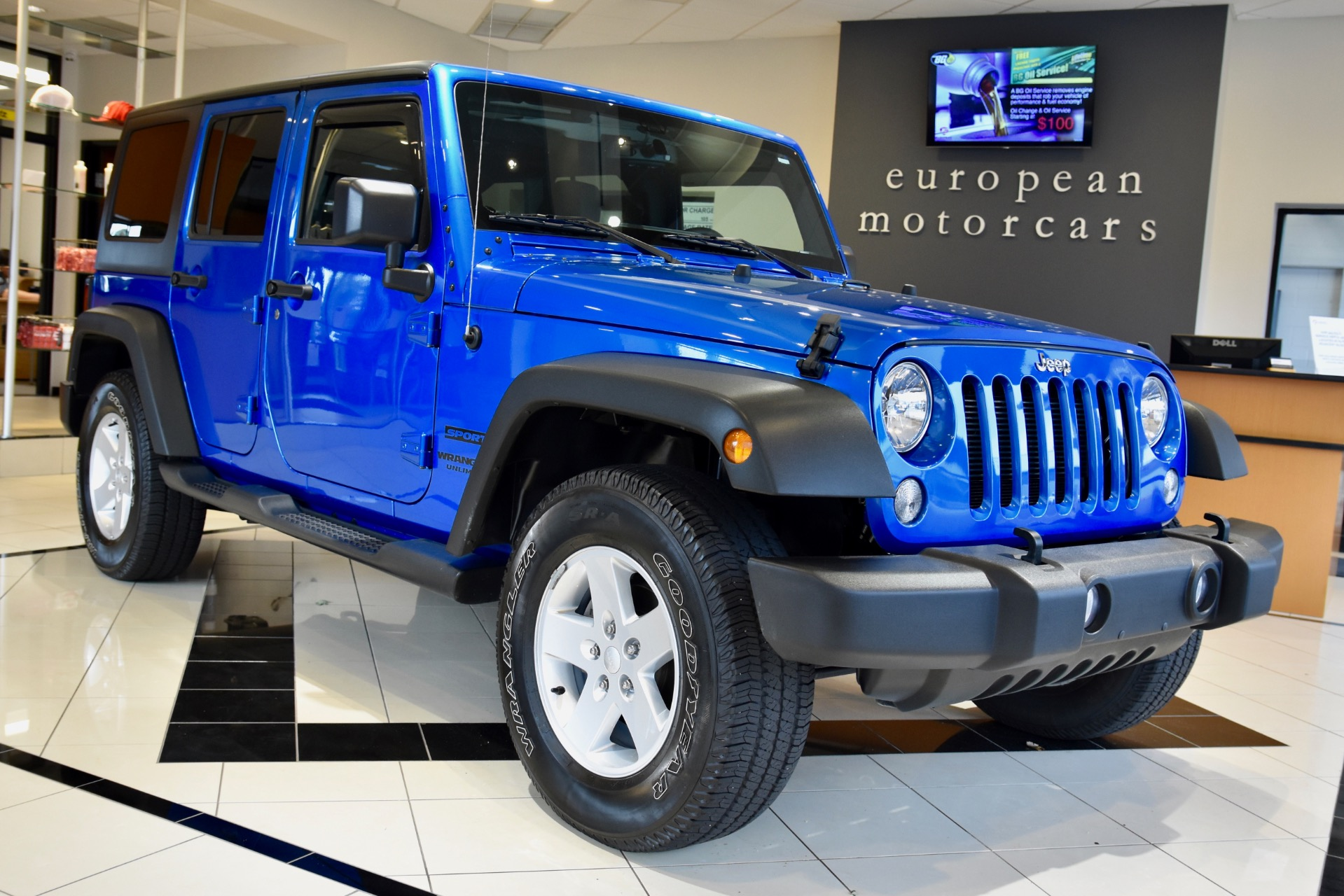2016 Jeep Wrangler Unlimited Sport S