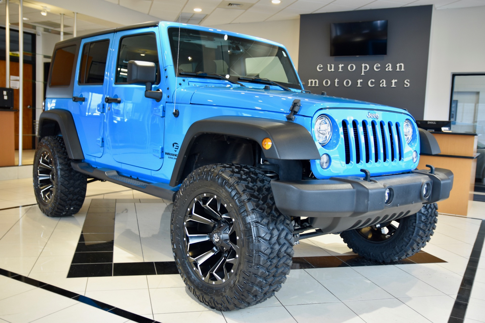 2017 Jeep Wrangler Unlimited EMC CUSTOM LIFTED Sport S