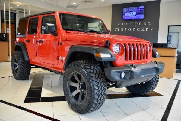 2018 Jeep Wrangler Unlimited EMC Custom Lifted