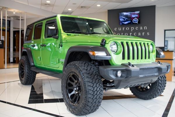 2019 Jeep Wrangler Unlimited  EMC CUSTOM LIFTED