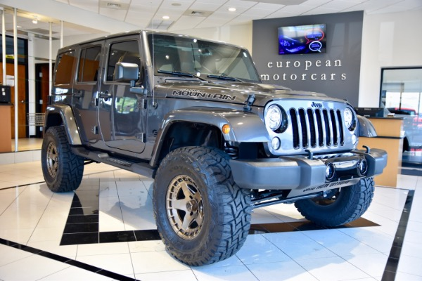 2017 Jeep Wrangler Unlimited EMC CUSTOM LIFTED