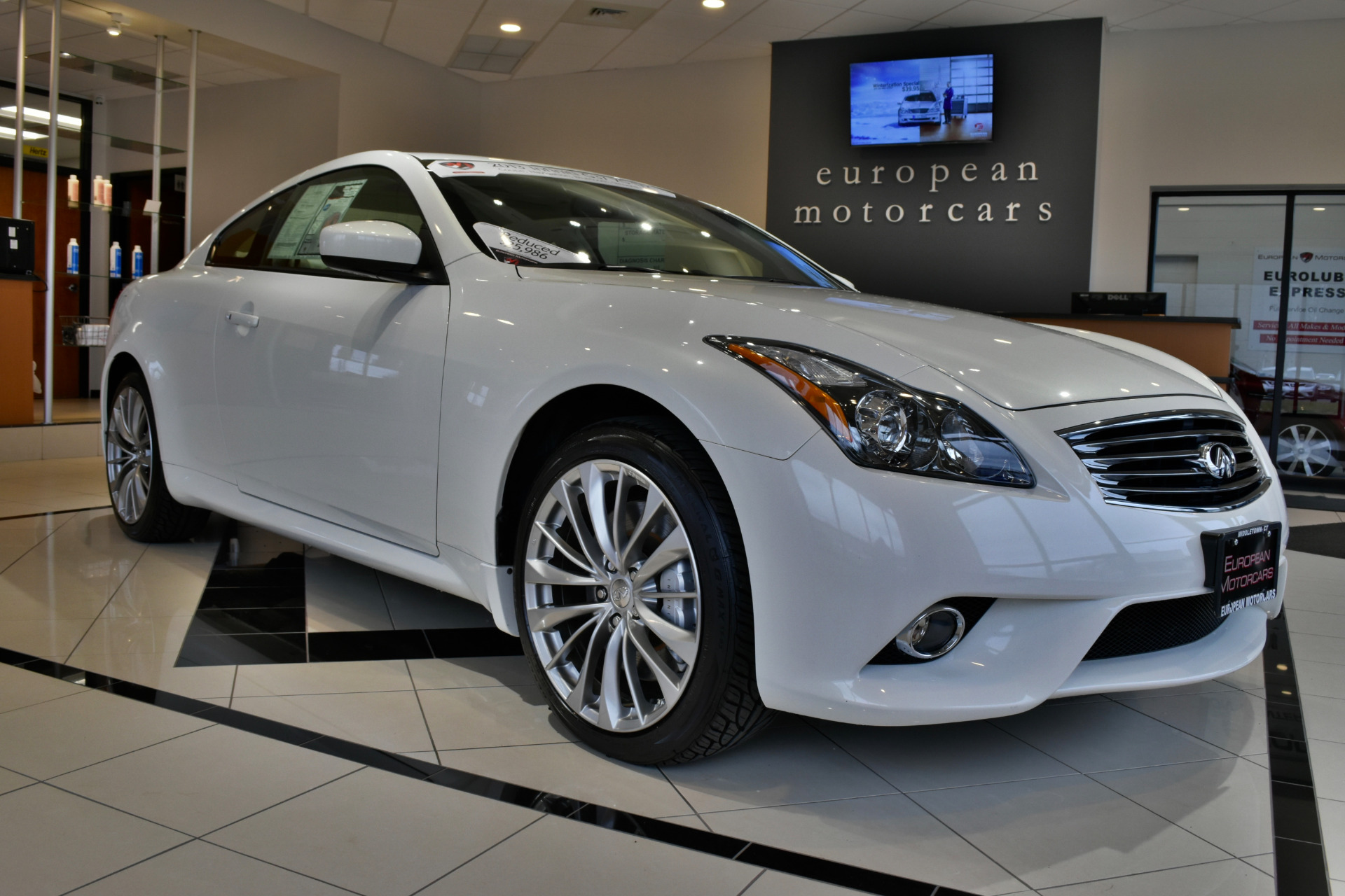 2013 infiniti g37 xs coupe x for sale near middletown ct for Euro motors collision center