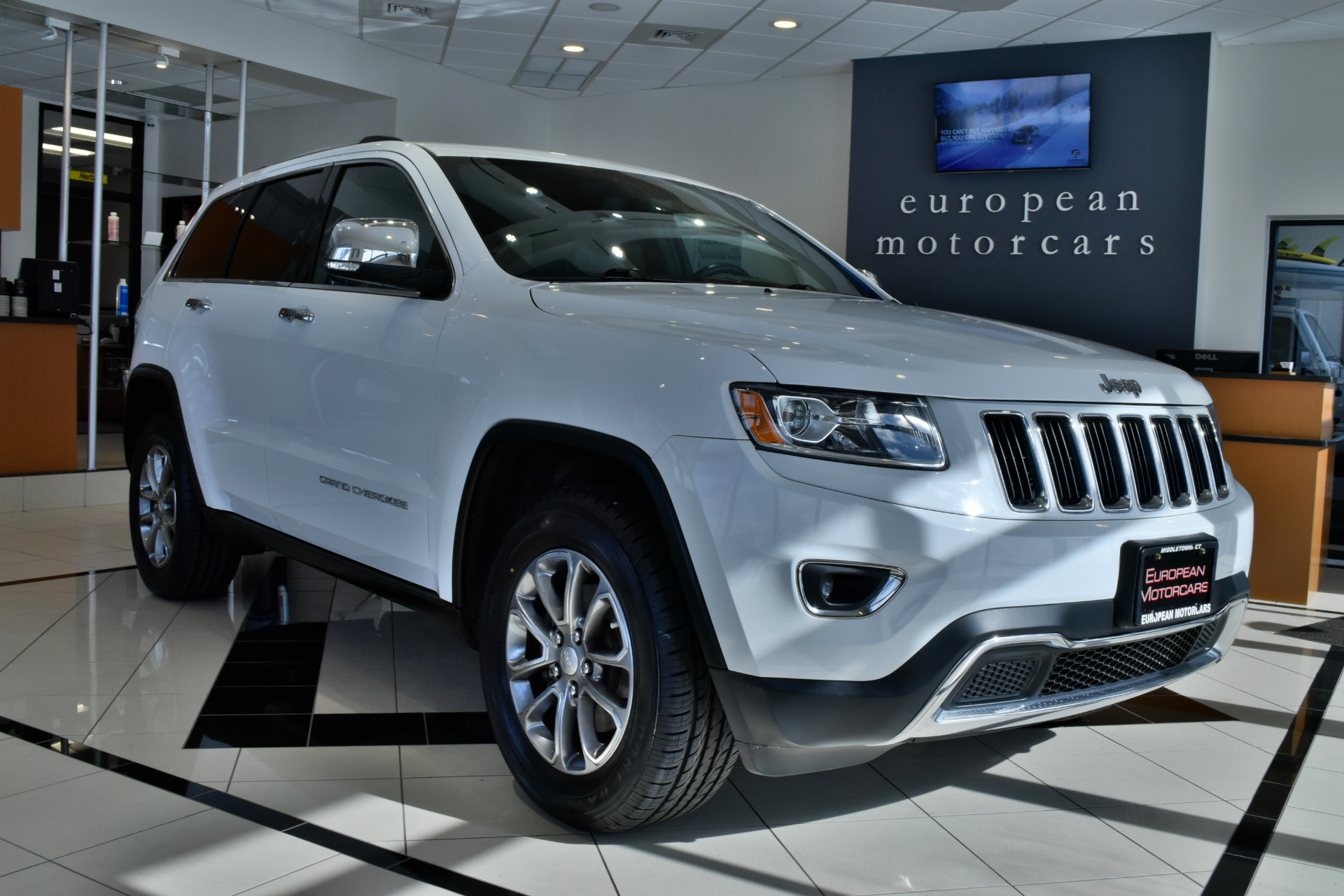 2014 jeep grand cherokee limited for sale near middletown ct ct jeep dealer stock 355976. Black Bedroom Furniture Sets. Home Design Ideas