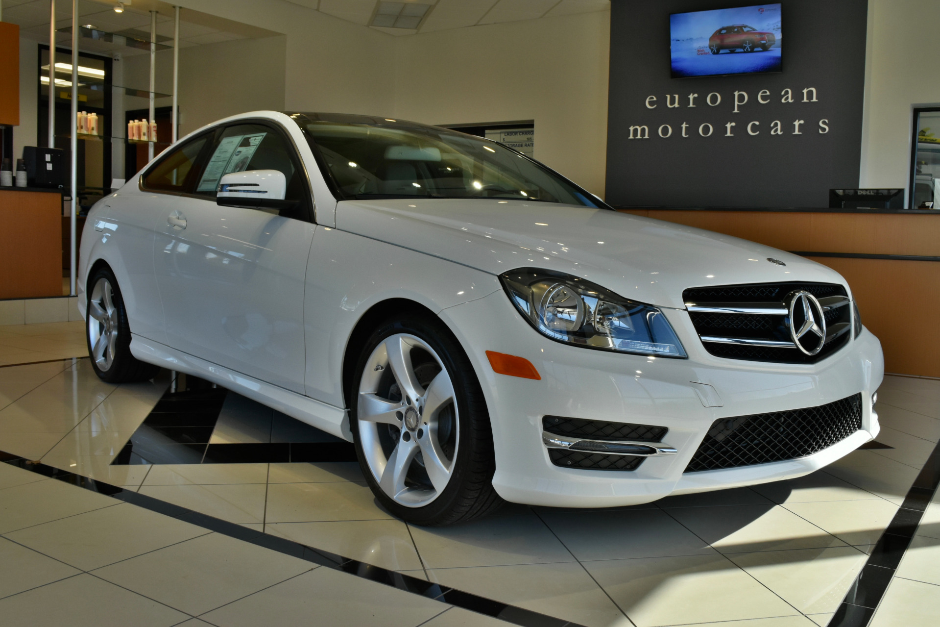 2014 mercedes benz c class c 350 4matic coupe for sale for Euro motorcars mercedes benz