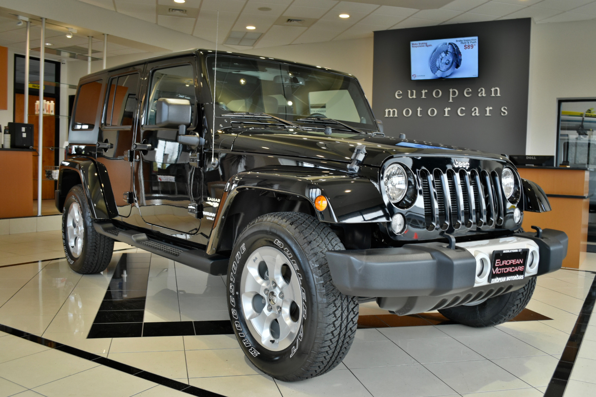 2014 jeep wrangler unlimited sahara for sale near middletown ct ct jeep dealer stock 108393. Black Bedroom Furniture Sets. Home Design Ideas