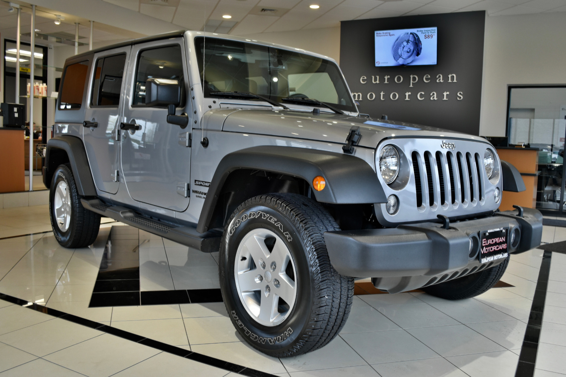 2014 jeep wrangler unlimited sport for sale near for Euro motors collision center