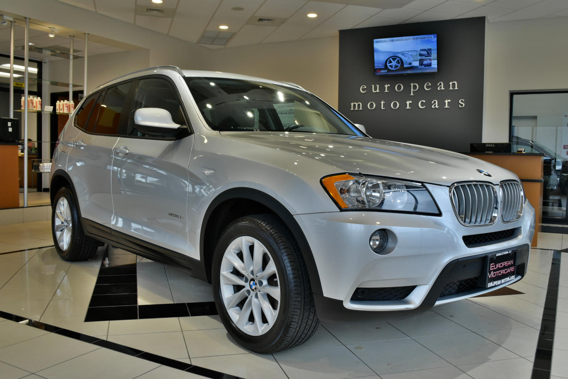 2014 bmw x3 xdrive28i for sale near middletown ct ct bmw dealer stock d40210. Black Bedroom Furniture Sets. Home Design Ideas