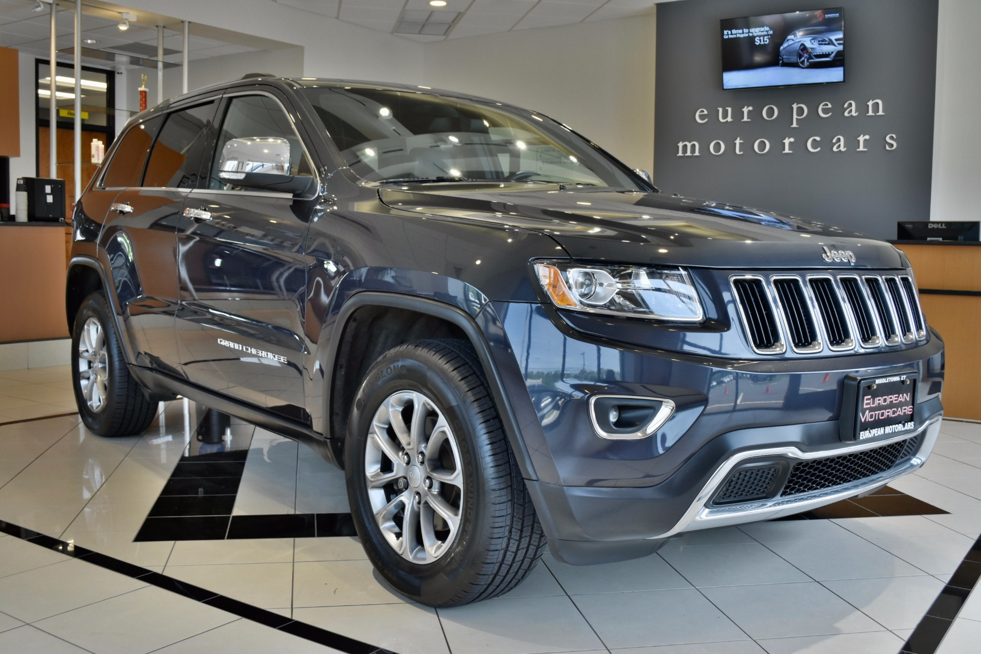 2014 jeep grand cherokee limited for sale near middletown ct ct jeep dealer stock 408309. Black Bedroom Furniture Sets. Home Design Ideas