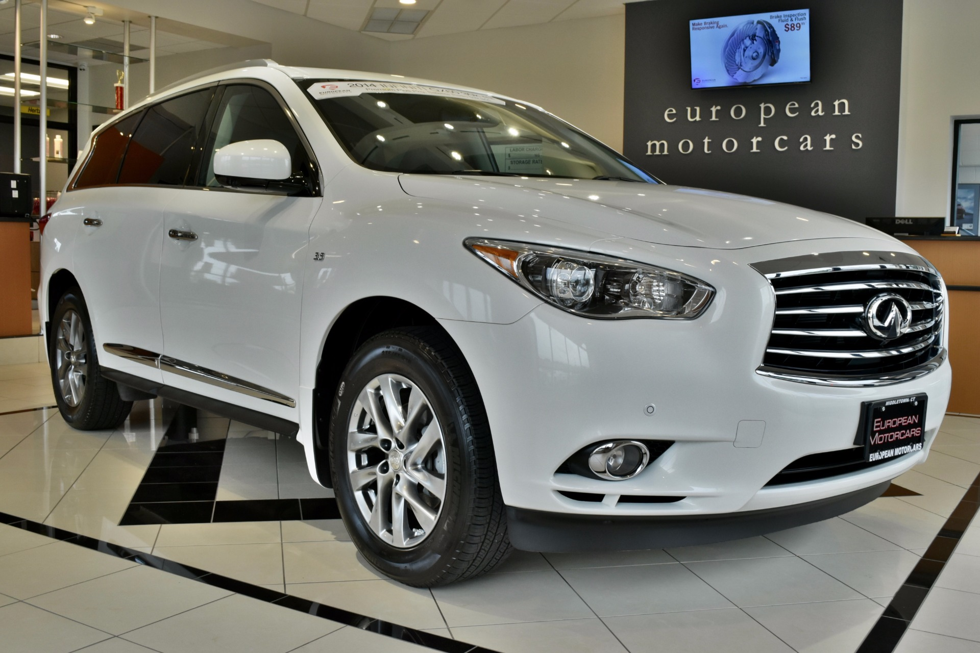 2014 infiniti qx60 for sale near middletown ct ct. Black Bedroom Furniture Sets. Home Design Ideas