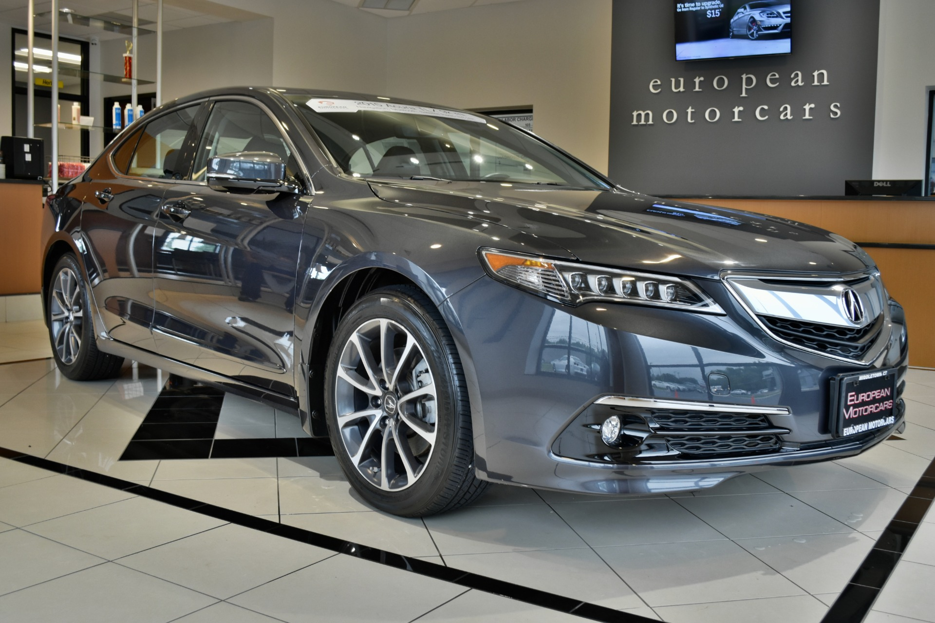 2015 acura tlx v6 w tech for sale near middletown ct ct for Euro motors collision center