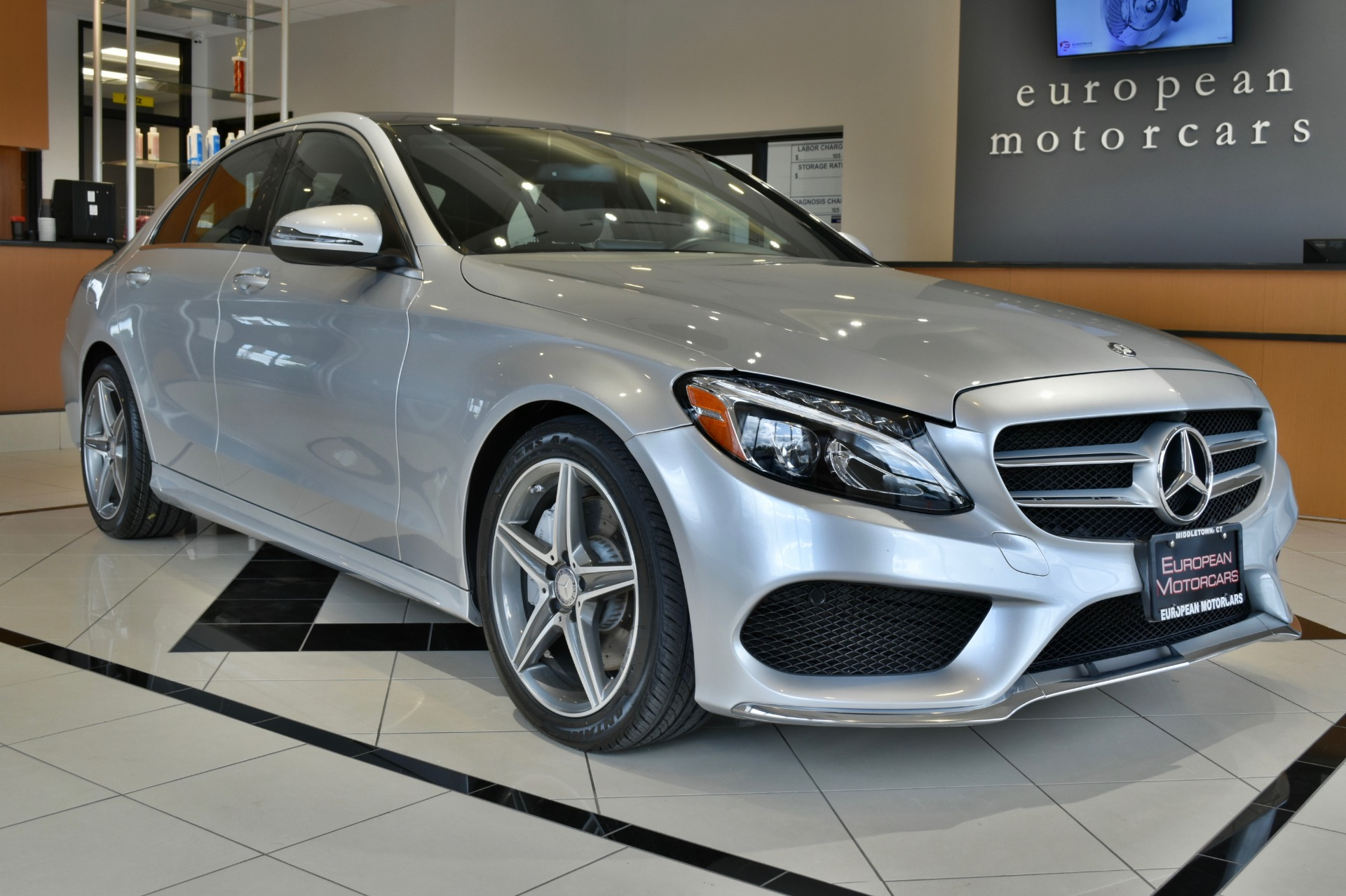 2016 mercedes benz c class c 300 sport 4matic for sale for Euro motorcars mercedes benz