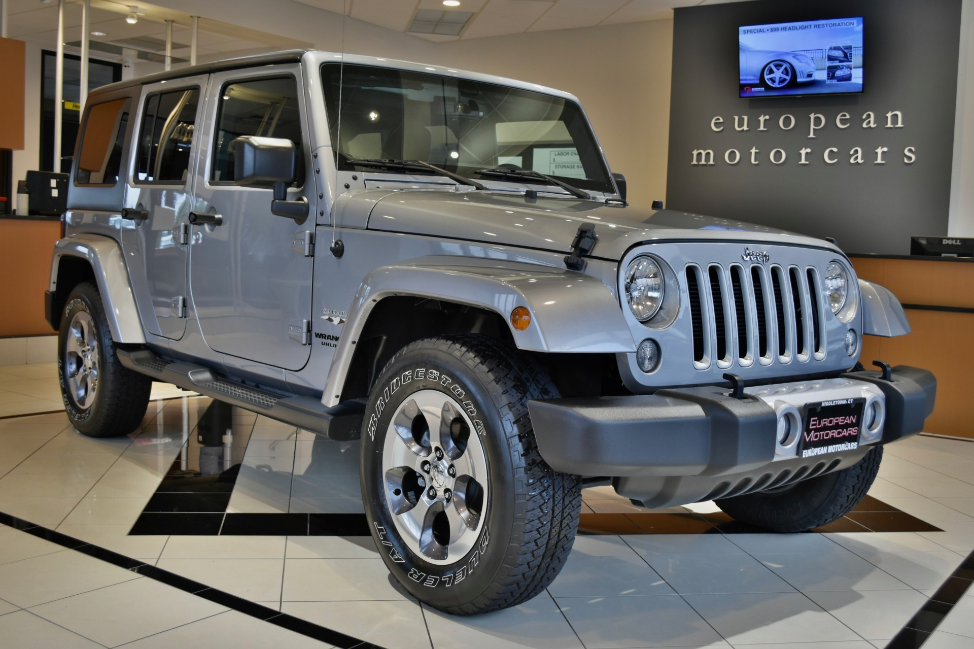 2016 jeep wrangler unlimited sahara for sale near middletown ct ct jeep dealer stock 210154. Black Bedroom Furniture Sets. Home Design Ideas