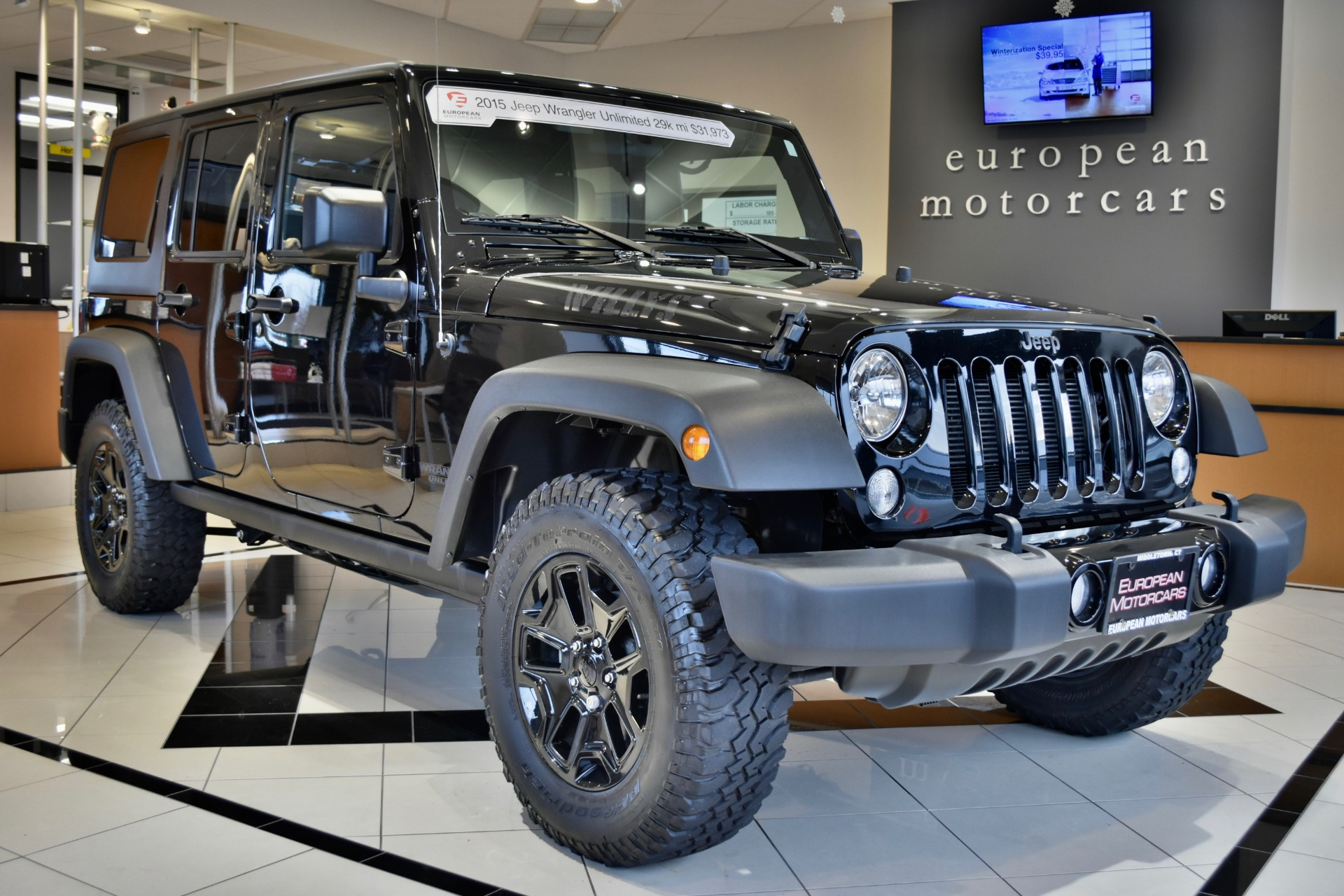 2015 jeep wrangler unlimited willys wheeler edition for for Euro motors collision center